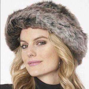 💖  Parkhurst Josephine faux fur brown brim hat